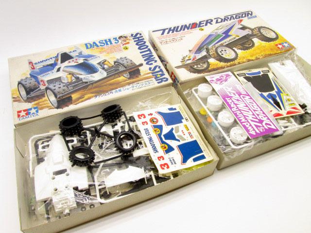 サンダードラゴン、シューティングスターなどミニ四駆を買取させて頂きました。