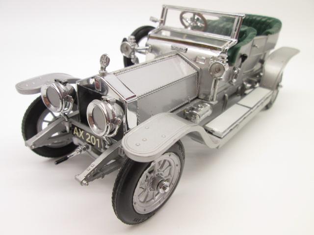 フランクリンミント 1/24 ロールスロイス 40/50HP シルバーゴースト 1907年