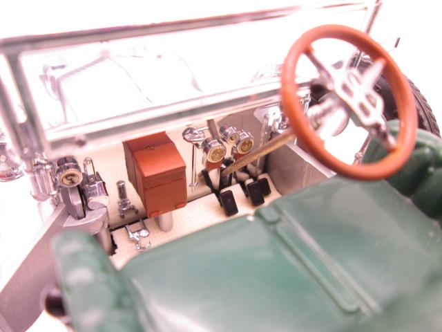 フランクリンミント 1/24 ロールスロイス 40/50HP シルバーゴースト 1907年 運転席