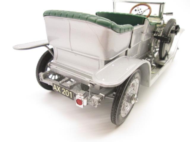 フランクリンミント 1/24 ロールスロイス 40/50HP シルバーゴースト 1907年 後部