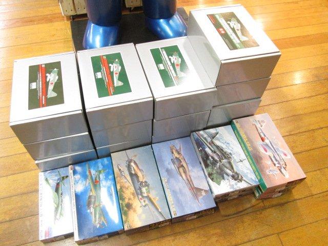 タミヤマスターワークなどの飛行機プラモデルを買取させて頂きました。