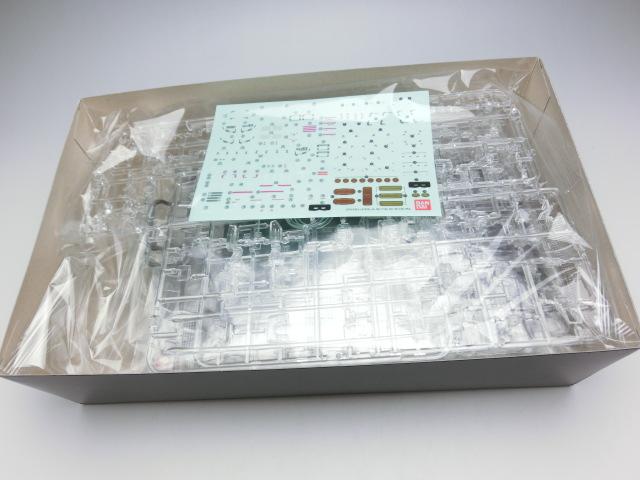 RG 1/144 ガンプラEXPO限定 ガンダム メカニカルクリアVer.キット内容