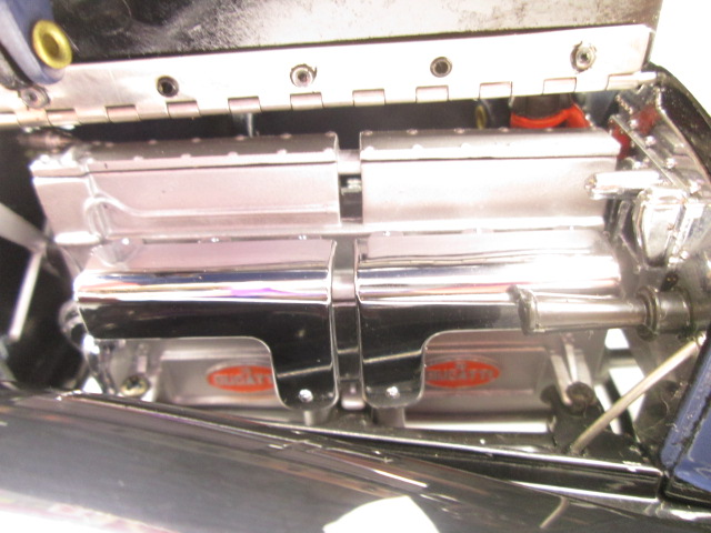 フランクリンミント 1930 ブガッティ ロワイヤル クーペ ナポレオン エンジン