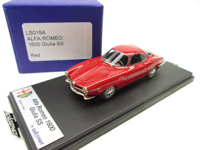 ルックスマート 1/43 アルファロメオ 1600 ジュリア スプリントスペチアーレ