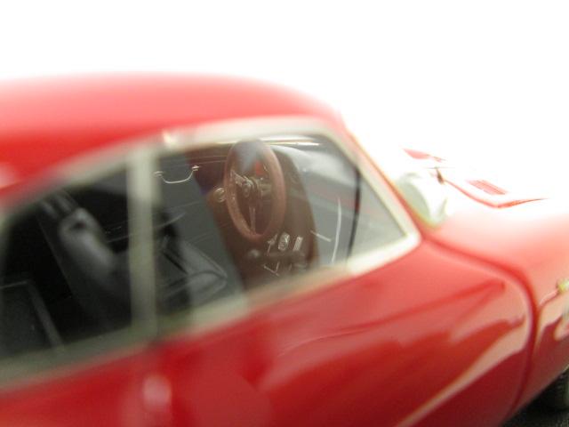 ルックスマート 1/43 アルファロメオ 1600 ジュリア スプリントスペチアーレ 運転席