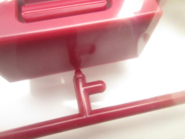 メガサイズモデルのランナー部分