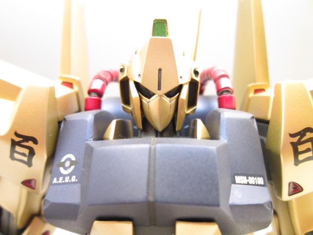 MG 1/100 百式 頭部のディテールアップ