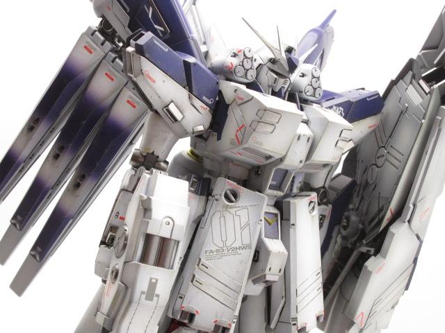 MG 1/100 Hi-νガンダム Ver.Ka + HWS拡張セット塗装済完成品