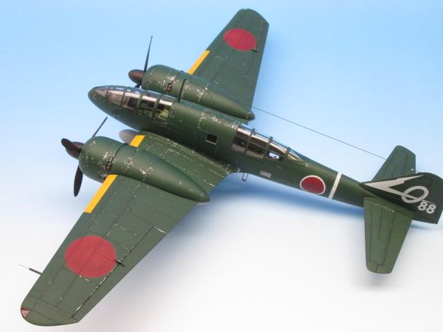 1/48 百式司令部偵察機 Ⅲ型 塗装済みプラモデル