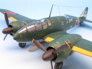 1/48 百式司令部偵察機 Ⅲ型 プラモデル完成品のご紹介