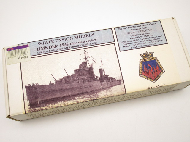 WHITE ENSIGN MODELS 1/700 HMS DIDO 1942