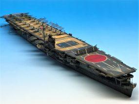 超精密!1/700 航空母艦 蒼龍 塗装済プラモデル完成品のご紹介