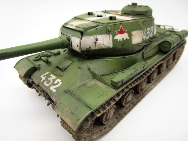 タミヤ 1/48 ソビエト重戦車JS-2 車体番号等