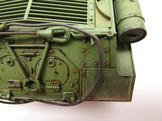 タミヤ 1/48 ソビエト重戦車JS-2 砂埃の表現