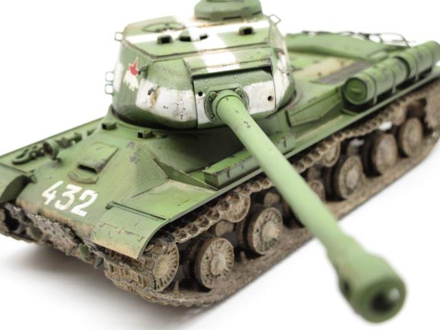 タミヤ 1/48 ソビエト重戦車JS-2