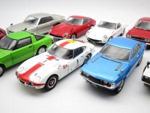 アシェットの1/24国産名車コレクションなどのミニカーを買取頂きました!