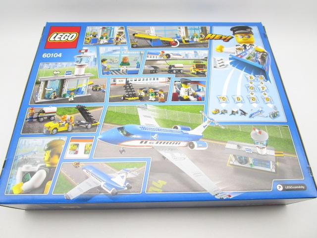 レゴ シティ 60104 空港ターミナルと旅客機 裏面