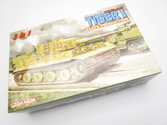 ドラゴン 6253 1/35 ドイツ重戦車Pz.Kpfw.VI Ausf.E ティーガーI 後期生産型 3in1