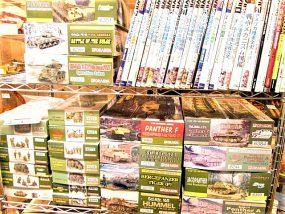 愛知県より戦車のプラモデルや模型資料を買取させて頂きました。