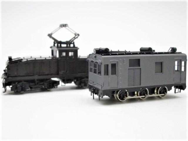 ワールド工芸、東野鉄道 DC20と国鉄 ED2911の鉄道模型を買取頂きました。