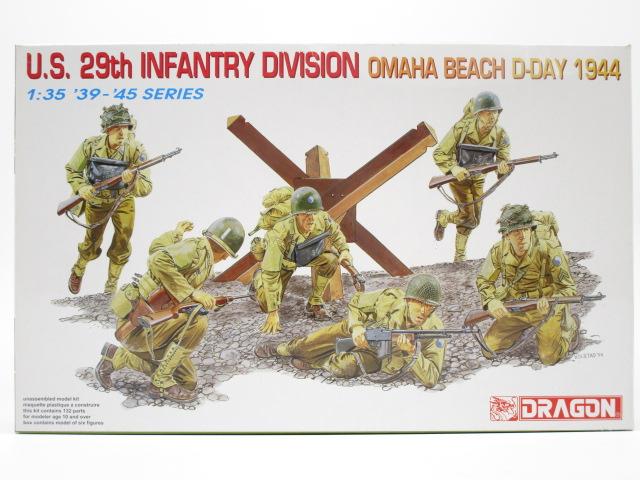 買取紹介:ドラゴン 1/35 U.S 第29師団 オハマビーチ D-DAY 1944