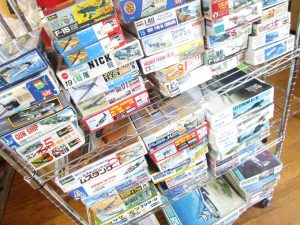 絶版の飛行機プラモデルや模型を千葉県柏市より、多数買取させて頂きました!