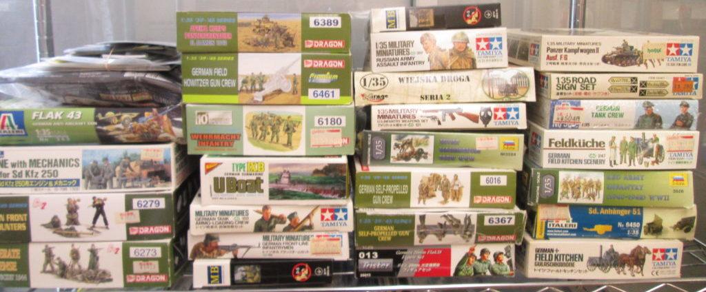 大阪府より、トライスターの戦車プラモデルなどを買い取りさせて頂きました!