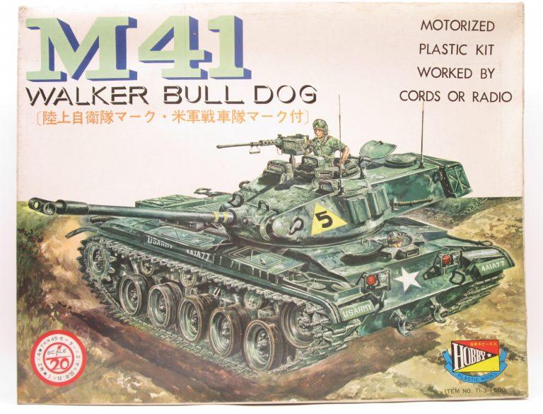 日本ホビー工業 1/20 M41偵察戦車 ウォーカーブルドッグを買取させて頂きました!