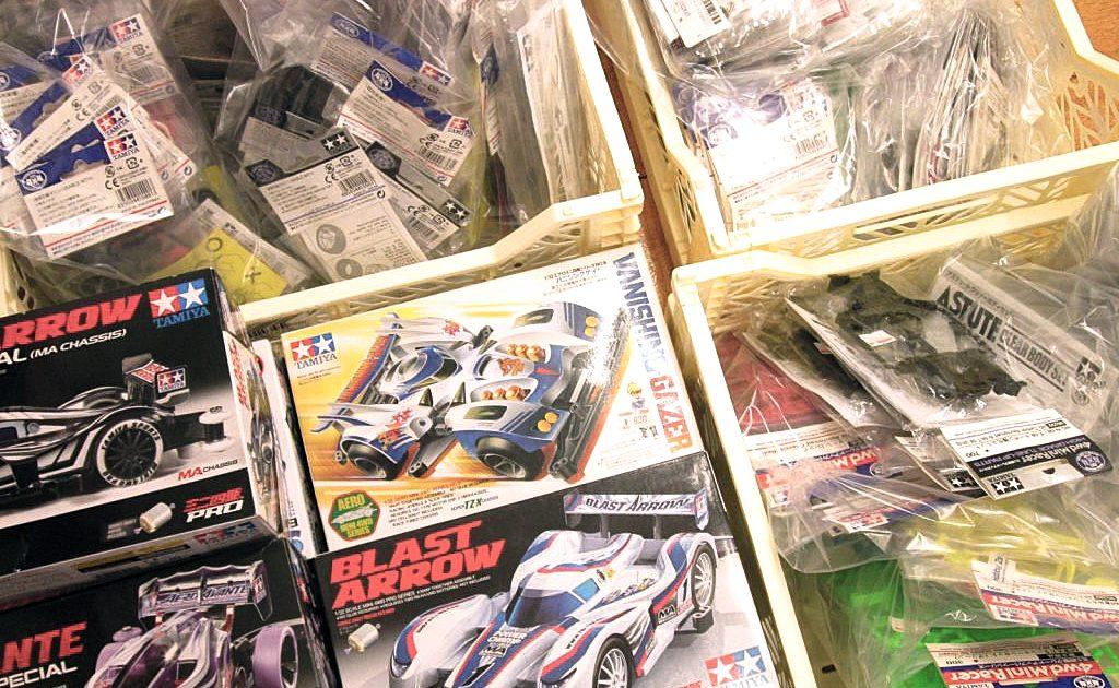 福岡県より、ミニ四駆キット・グレードアップパーツ類を買取頂きました!