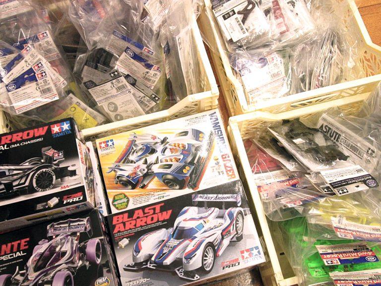 福岡県よりミニ四駆キット・グレードアップパーツ類を買取頂きました!