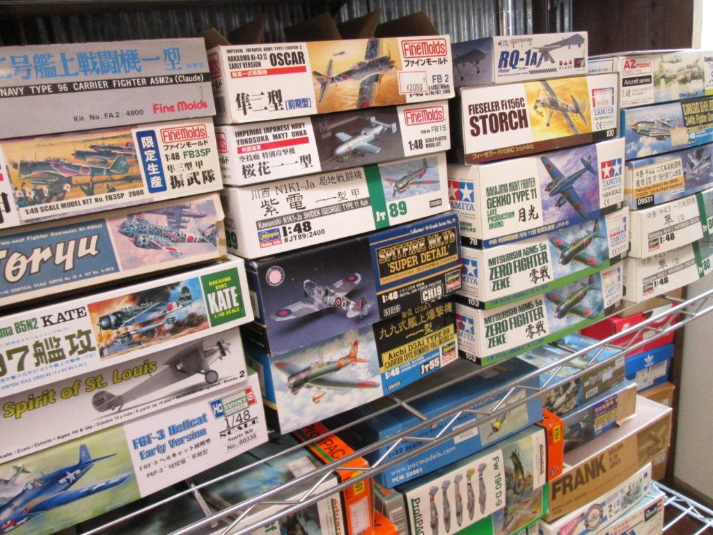 タミヤやファインモールドなどの飛行機模型