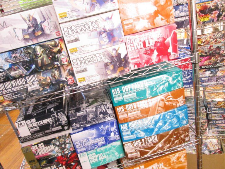プレミアムバンダイなどのガンプラを兵庫県加古川市より買取させて頂きました!