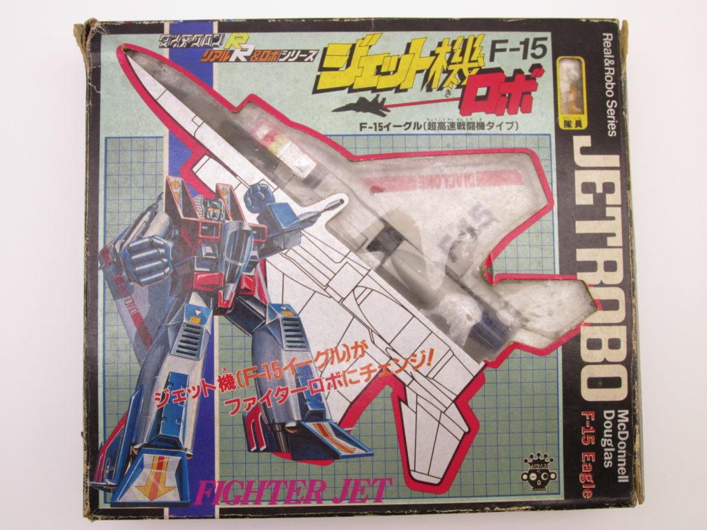 ダイアクロンR ジェット機ロボ F-15