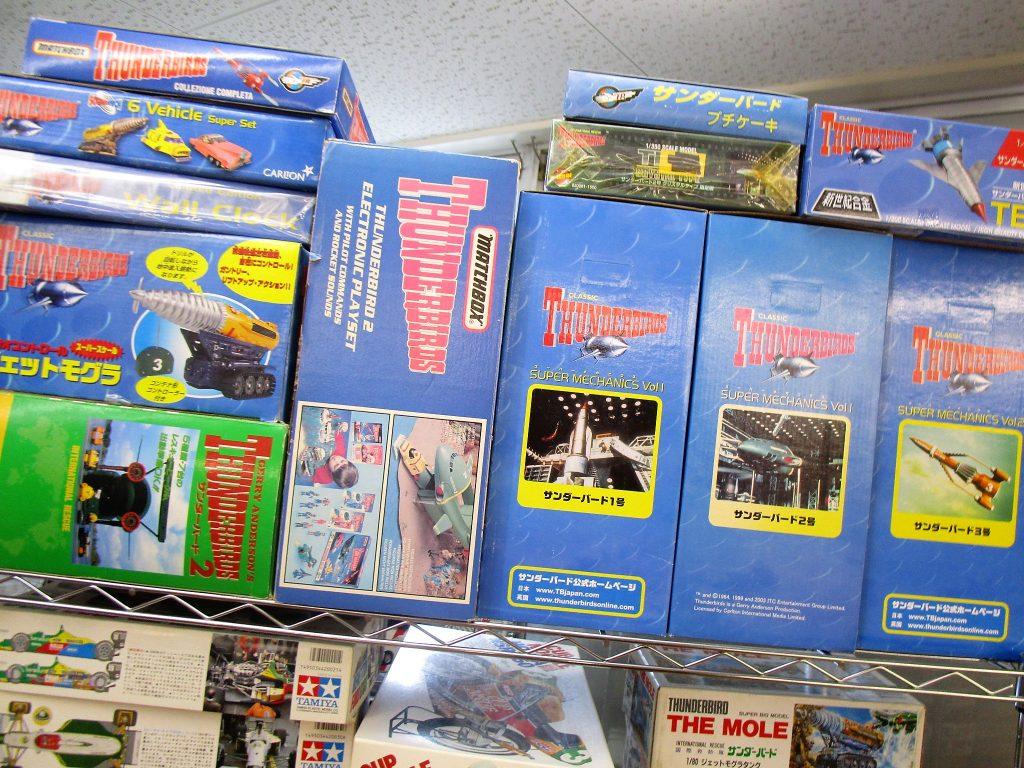 国内外のサンダーバード玩具