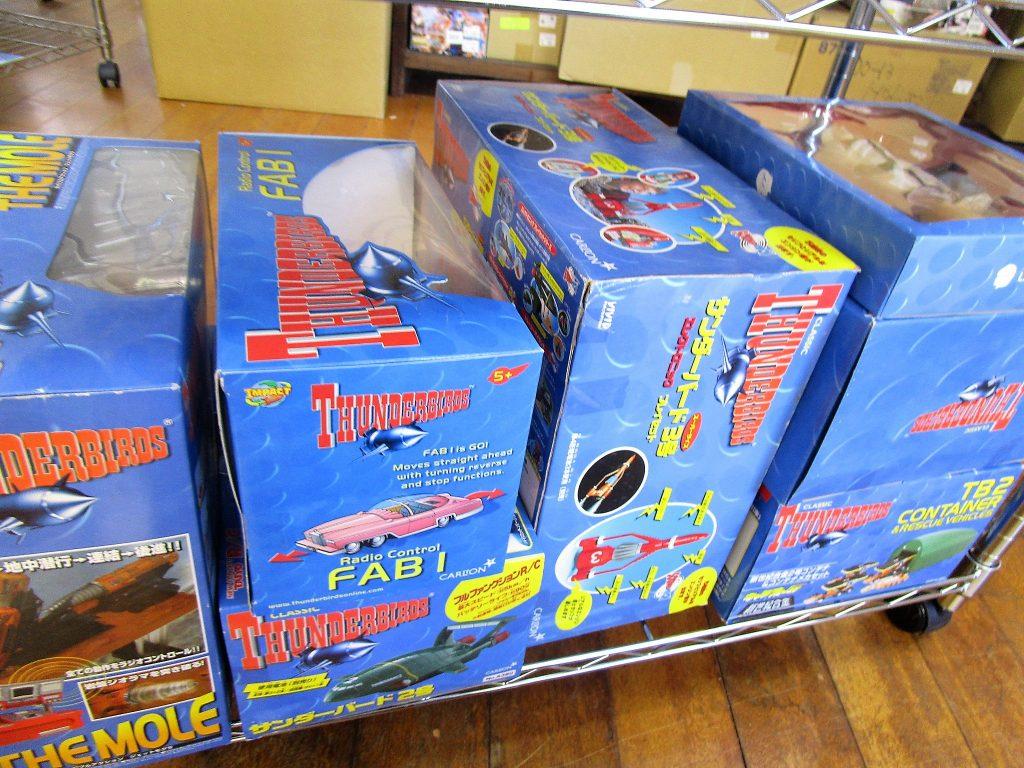 タカラ R/Cサンダーバード2号やジェットモグラ等のラジコンを買取頂きました。