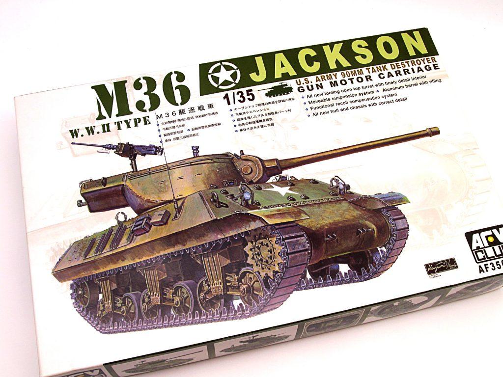 買取紹介:AFVクラブ 1/35 駆逐戦車 M36 ジャクソン