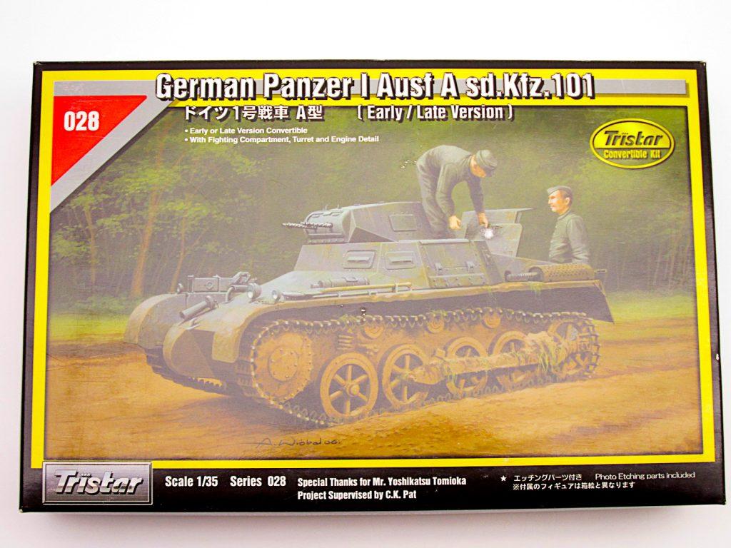 買取紹介:トライスター 1/35 ドイツ Ⅰ号戦車 A型 初期型/後期型