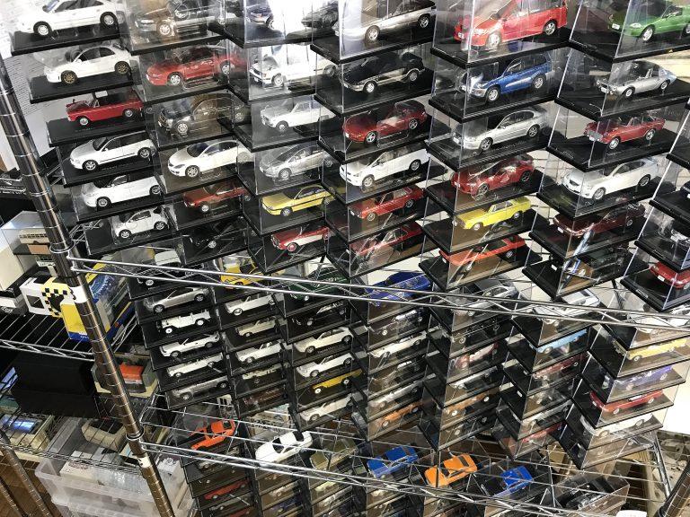 徳島県より、アシェット 1/43 国産名車コレクションを100台以上お売り頂きました!