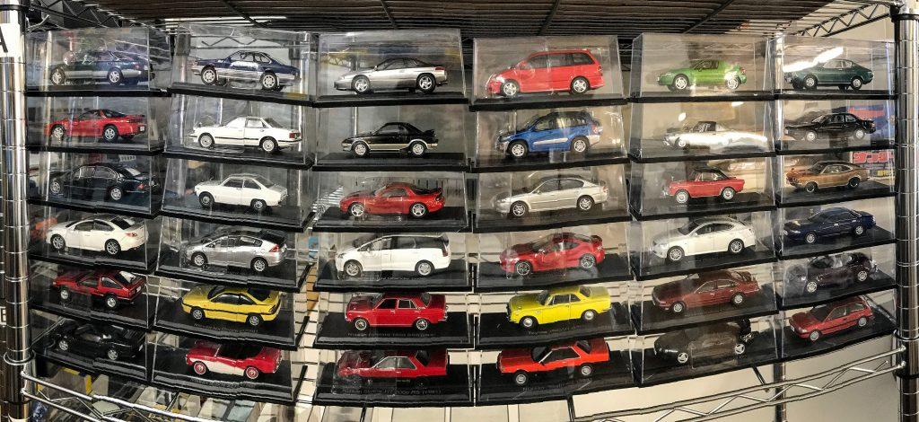 国産名車コレクション並べた写真1