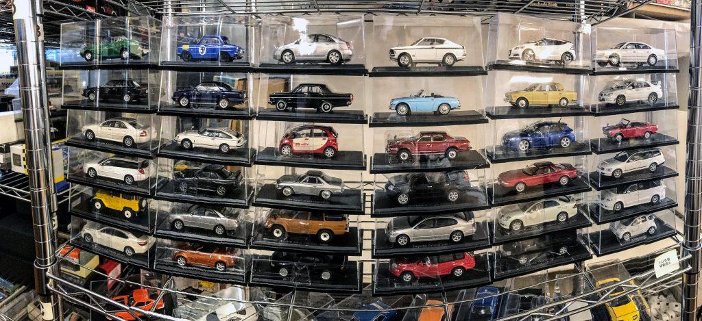 国産名車コレクション並べた写真2