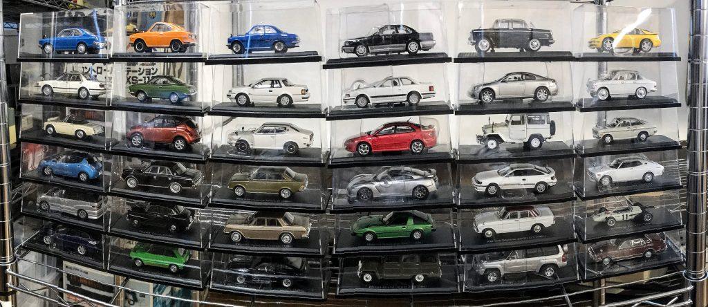 国産名車コレクション並べた写真3