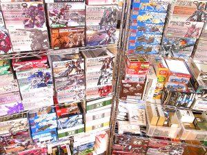 フレームアームズなど160点以上のプラモデルを神奈川県藤沢市より買取頂きました!
