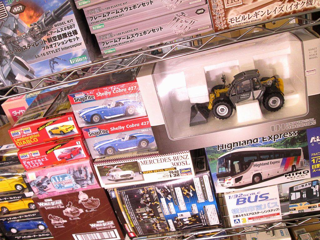 買取紹介:アオシマやハセガワ、モノグラムの車プラモデルやミニカー