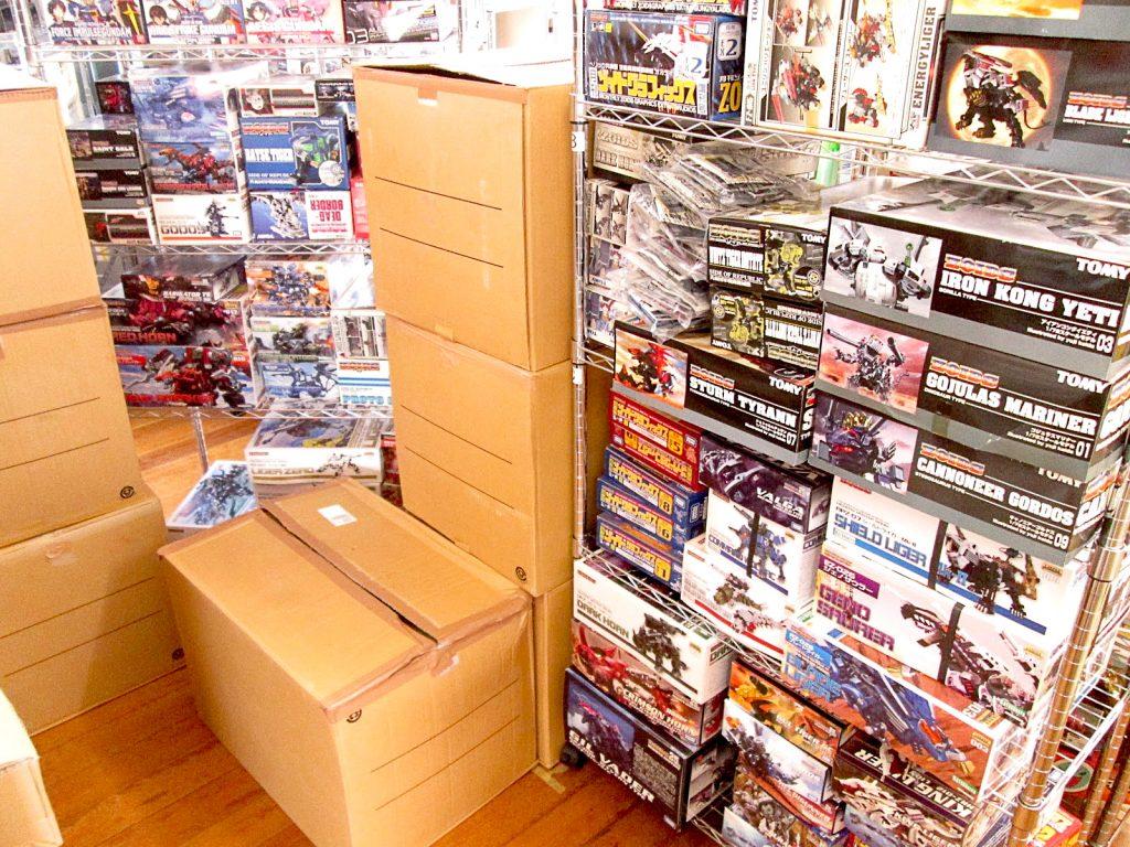 愛知県より、トミーやコトブキヤの新旧ゾイドを多数買い取り頂きました!