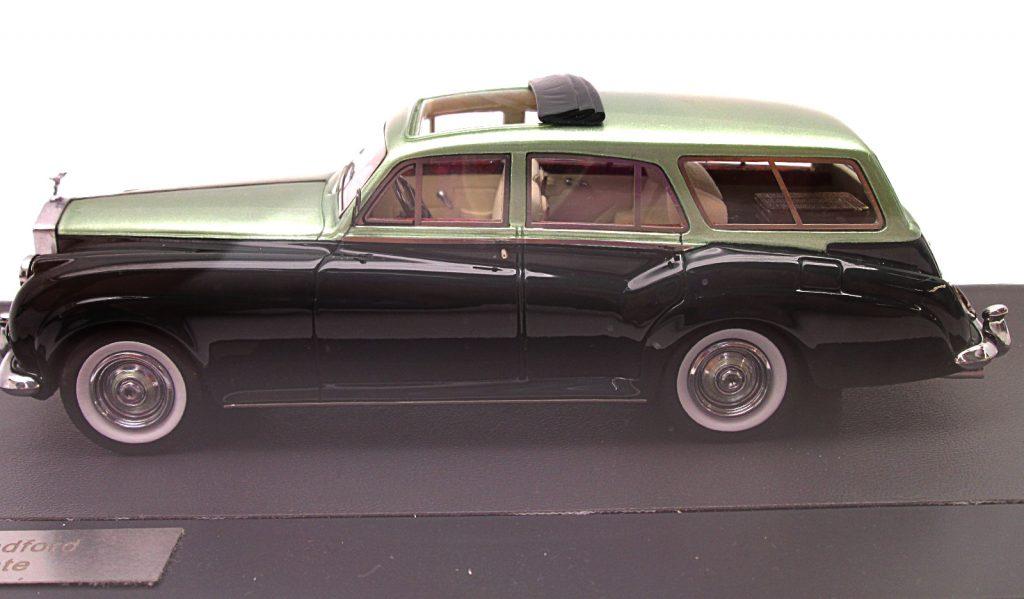 買取紹介:マトリックス 1/43 ロールスロイス シルバークラウド ステーションワゴン 1959 ハロルド・ラドフォード