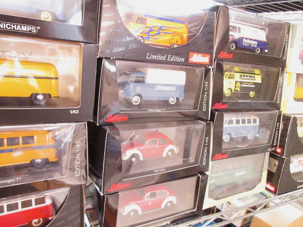 買取紹介:様々なフォルクスワーゲンのミニカー