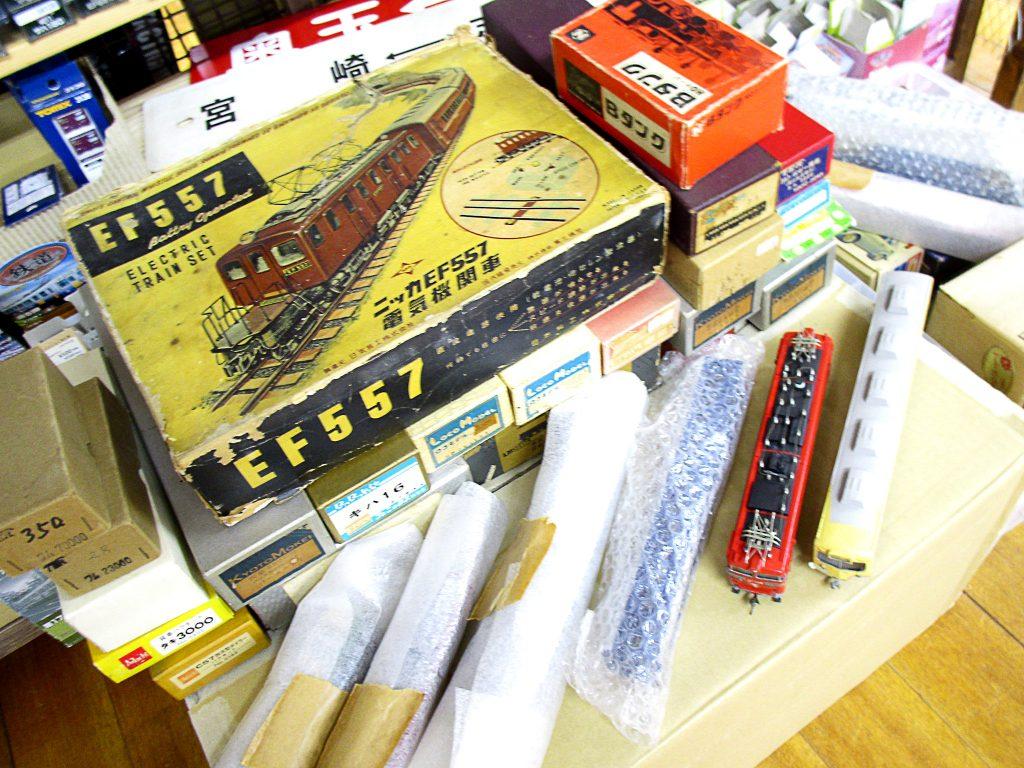HOゲージや16番ゲージなど懐かしい鉄道模型を千葉県船橋市より買取頂きました!