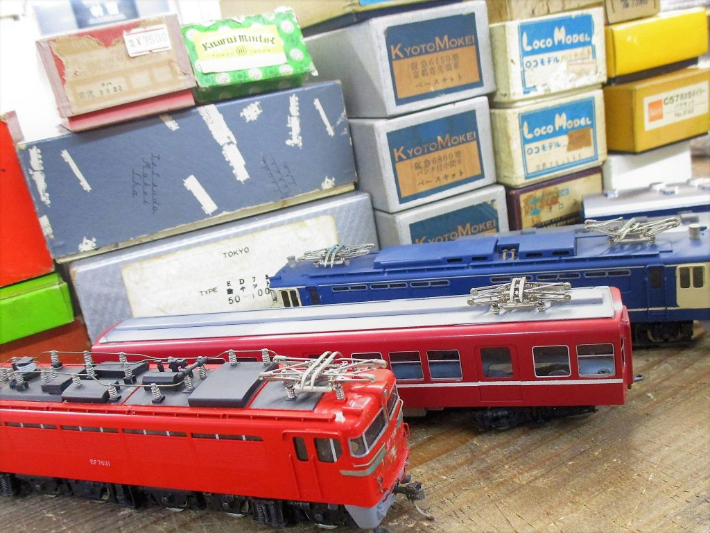 買取紹介:HO 16番ゲージの鉄道模型