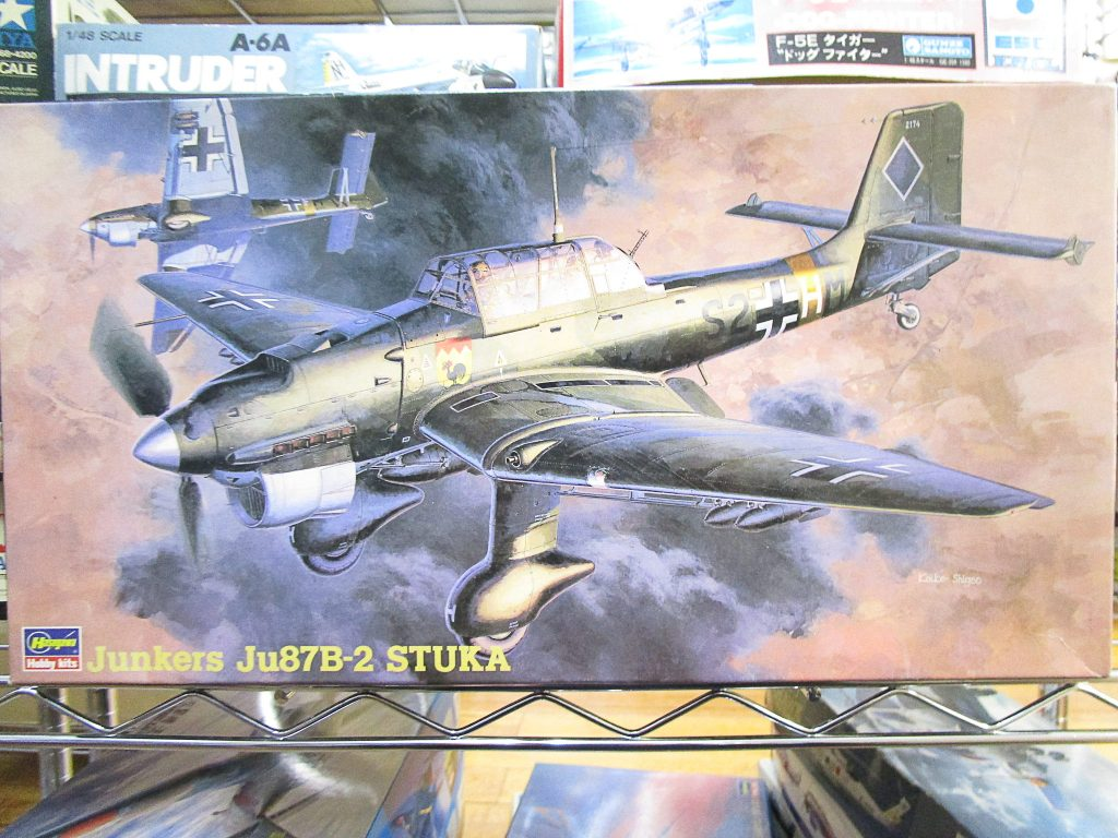 ハセガワ 1/48 Ju87B-2 スツーカ