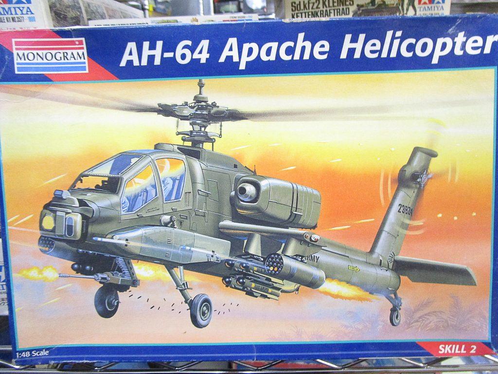 モノグラム 1/48 AH-64 アパッチ